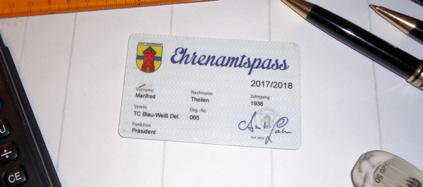 Ehrenamtspass