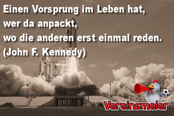 John F. Kennedy - Vorsprung