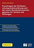 DSGVO für Vereine und Stiftungen